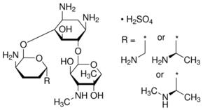 Gentamicin for peak identification