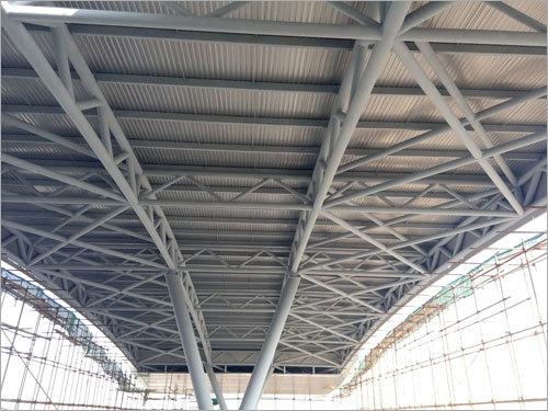 Steel Roofing Steel Pipe Truss