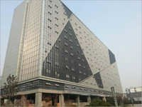 Space Frame Glass Curtain Wall