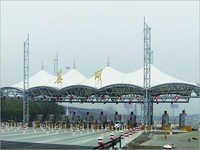 Membrane Structure For Toll Station