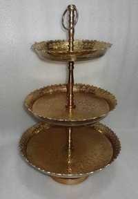 Brass Cake Stands