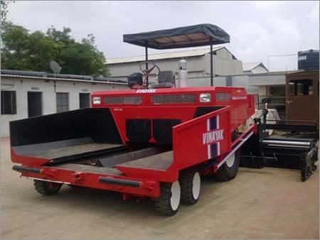 Paver Construction Machine