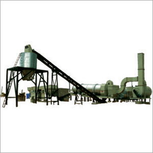 Asphalt Stationary Drum Mix Plant