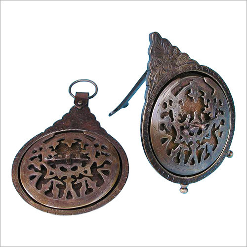 Antique Vintage Style Brass Astrolabe Old World Navigation