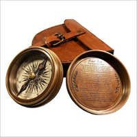 Antique London brass Pocket Compass