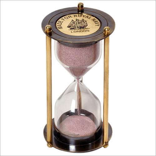Antique Vintage Style Brass 5 Minute Sand Timer