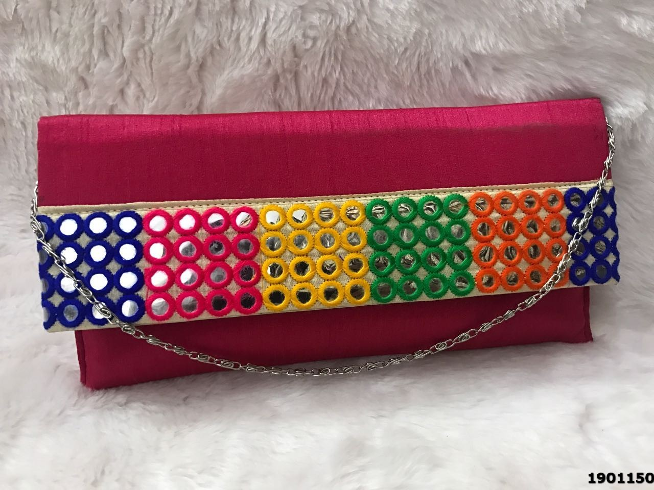 Floral Embroidered Ladies Purse