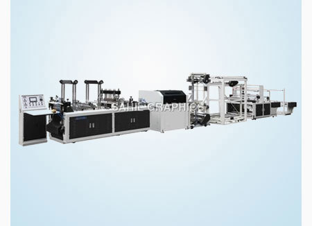 Fully Automatic Non-Woven Handle Bag Making Machin