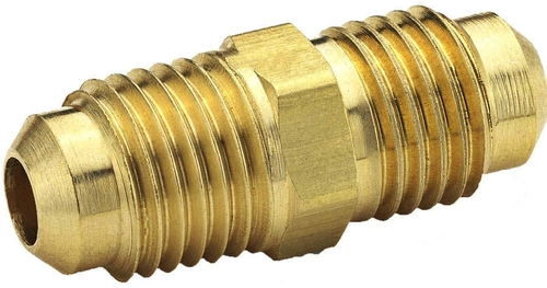 Brass Double End Flare For Compression Fittings