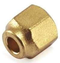 Brass Flare Nut Short Neck Compression Fittings