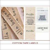 Satin Wash Care Labels
