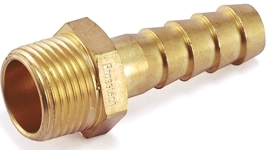 Brass Male Hose Nipple For Hose Fittings