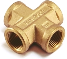 Brass Female Four Way For Brass Pipe Fittings