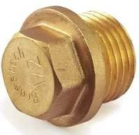 Brass Forging Plug For Brass Pipe Fittings