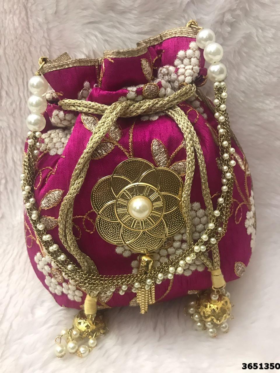 Beautiful Colorful Potli Bag