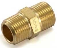 Brass Hex Nipple BSP For Brass Pipe Fittings