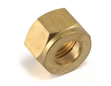Brass Olive Nut For Brass Pipe Fittings