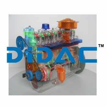 JIEFANG CA141 Engine Module Model