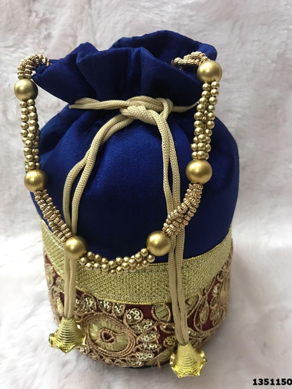 Ethnic Embroidered Potli Bag