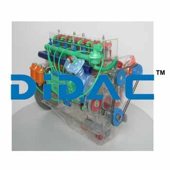 STEYR Diesel Engine Module Model