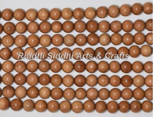 Natural Sandalwood Japa Beads