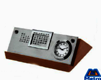 Pyramid Calendar Clock