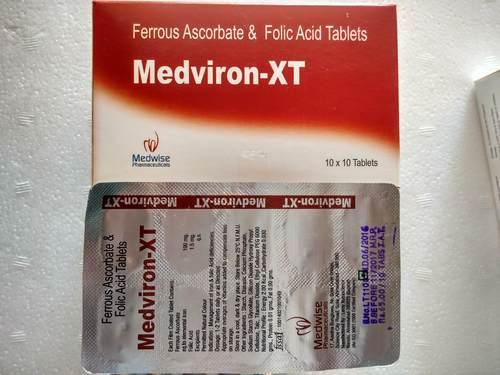 Tablet Iron and Folic Acid