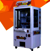 Magic key gift & toy amusement machine coin-input