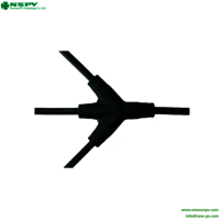 3 In 1 PV Solar Cable Assembly Connector