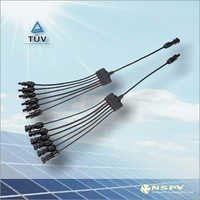 6 In 1 PV Solar Cable Assembly Connector