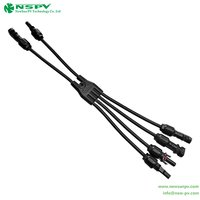 4 In 2 PV Solar Assembly Connector