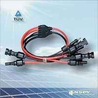 6 In 2 PV Solar Assembly Connector
