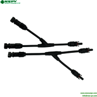 Solar Cable Assembly Connector 2 In 1 Y Type