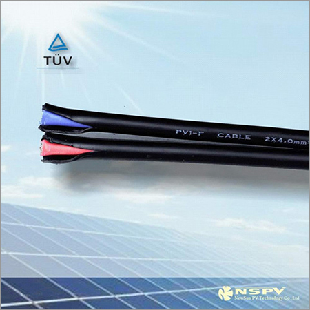 Double Core Solar Power Cable