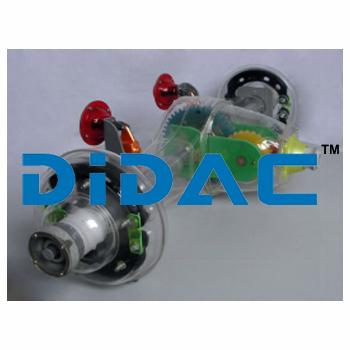 JIEFANG CA141 Rear Drive Bridge Module Model