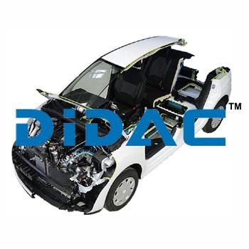 EV Electric Vehicle Cutaway