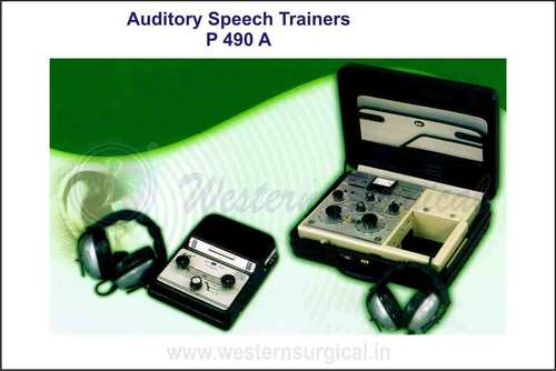 AUDITORY SPEECH TRAINERS (MODEL 300 MK II)