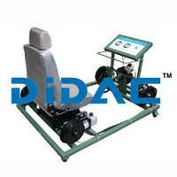 Electric Vehicle Vacuum Booster Brake System Trainer