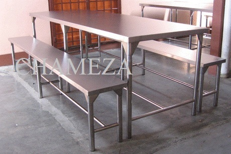 Table With Integrated Bench