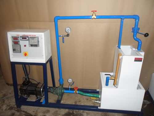 Centrifugal Pump Test Rig (Variable Speed With Swinging Field Dynamometer)