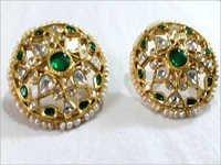 Jadau Emerald Tops