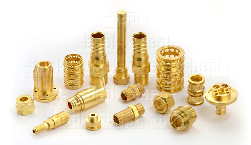 Brass CNC Machined Components