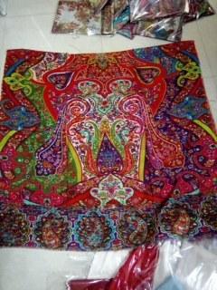 modal digital print shawls
