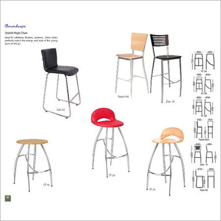 High Cafe Chair