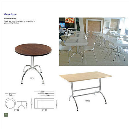 Cafeteria Tables CFT 01 CFT 02