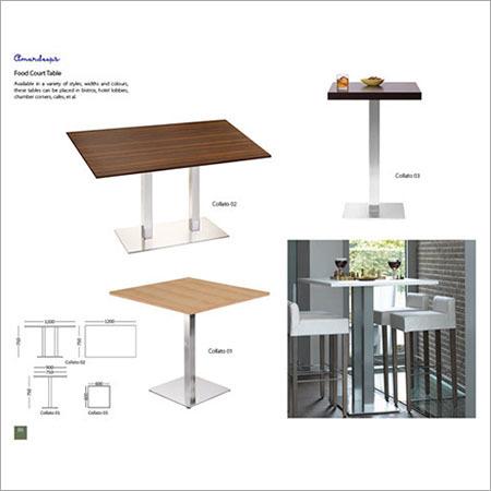 Food Court Table Collato 01  Collato 02  Collato 03
