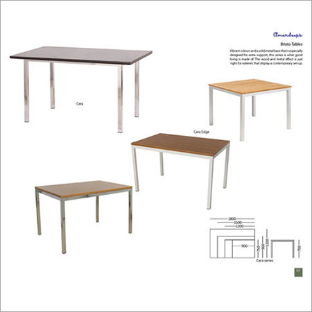 Bristo Canteen Table Cera Edge  Cera