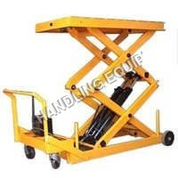 Movable Scissor Lifts Table