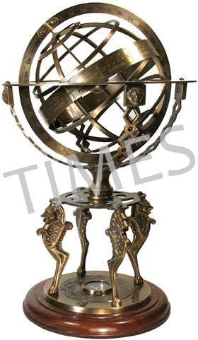 Antique Armilliary Glob