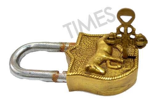 Brass Vintage Lock
